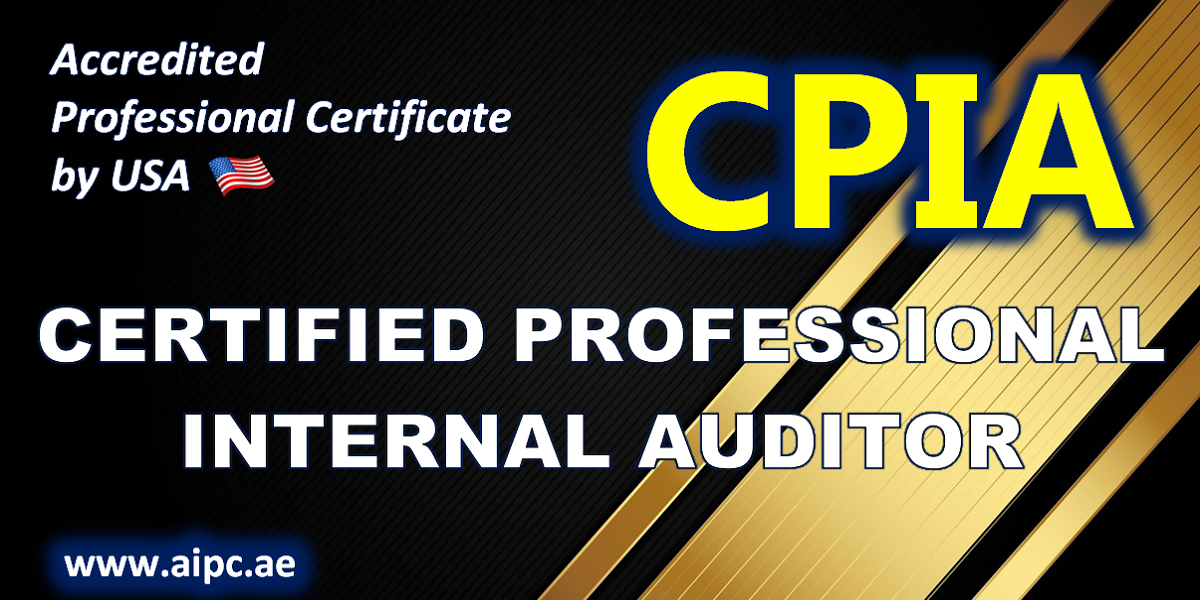 Certified Professional Internal Auditor - CPIA
