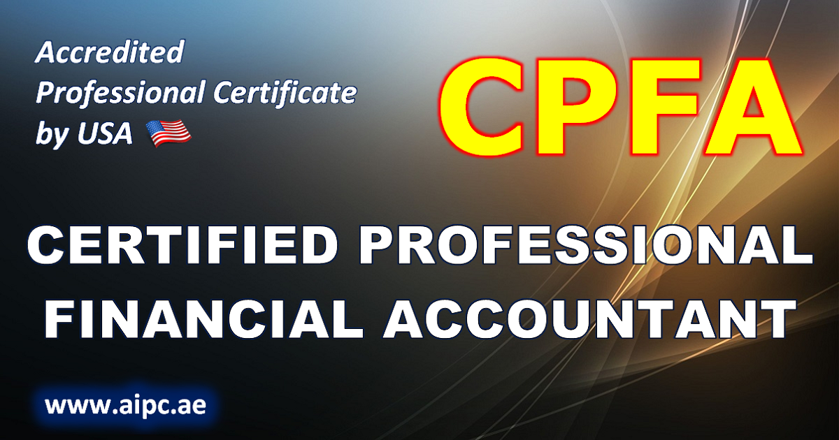 Certified Professional Financial Accountant - CPFA