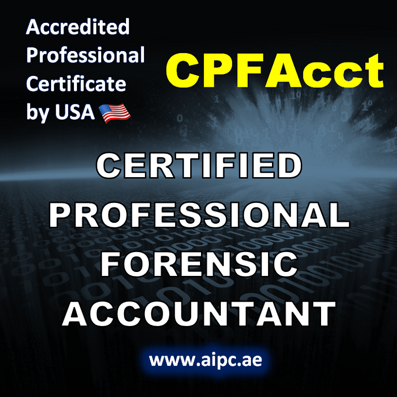 Certified Professional Forensic Accountant